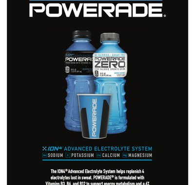 Powerade Introduction